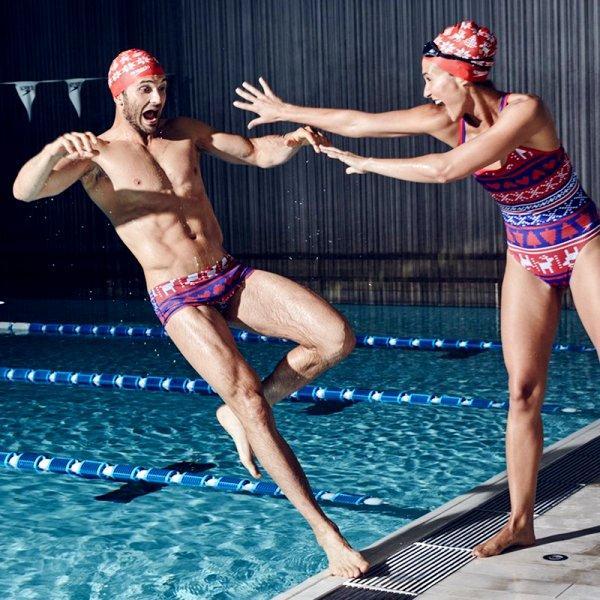 Christmas Swimwear, Caps Speedo, Limited Edition Speedo, Speedo Christmas Collection, Swim.by