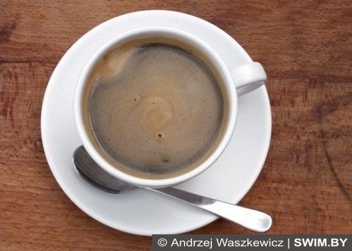 Кофе и спорт, здоровый образ жизни, Анджей Вашкевич, плавание