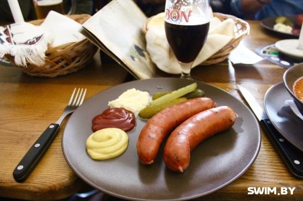 Чешский завтрак, завтрак в Чехии, Swim.by
