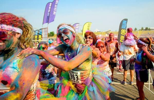 Дания, The Color Run, самый красочный забег Скандинавии, Swim.by