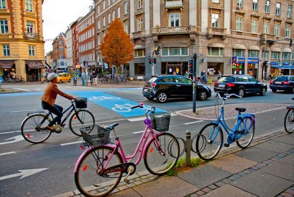 Велосипед в Дании, Дания, велосипед в Копенгагене, на работу на велосипеде, Denmark, Swim.by