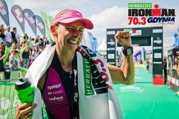 Diana Riesler триатлон, Ironman 70.3 Gdynia 2016, Ironman triathlon