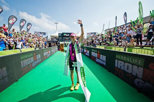 Diana Riesler, Ironman triathlon Gdynia, Ironman триатлон