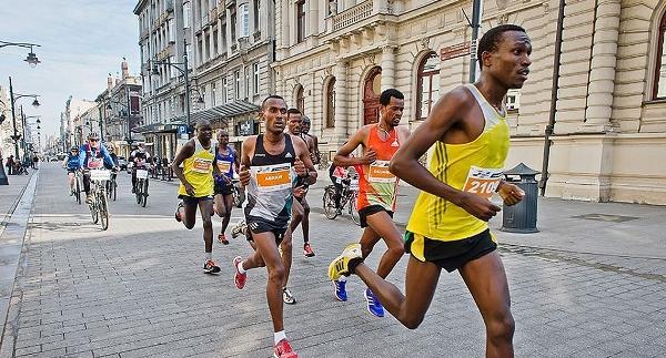 DOZ Marathon Lodz 2017, марафон в Лодзи, фильм Ва-банк