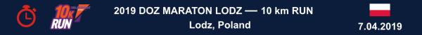 DOZ Marathon Lodz 2019 – 10 km, DOZ Marathon Lodz 2019 – 10 km Wyniki, DOZ Marathon Lodz 10 km Results, www.swim.by, Wyniki DOZ Marathon Lodz 10 km, DOZ Marathon Lodz 2019 – 10 km RESULTS, WYNIKI, Swim.by