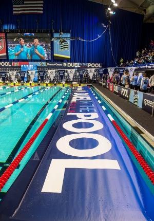 Дуэль в бассейне 2015, плавание