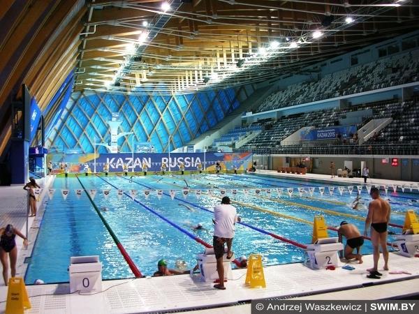 Дворец водных видов спорта, Казань, бассейн