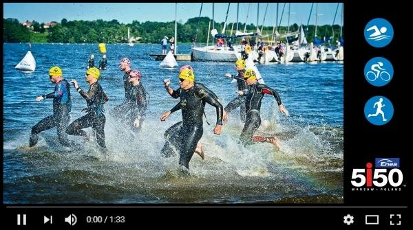 Enea 5150 Warsaw Official Video, www.swim.by, 5150 Warsaw Triathlon Video, Swim.by