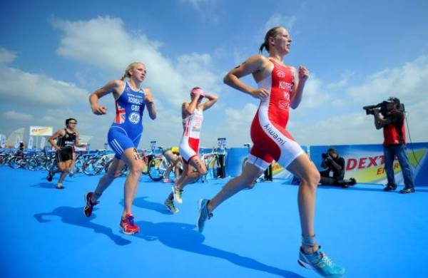 Enea 5150 Warsaw 2017, триатлон в Варшаве, triathlon, Paulina Kotfica
