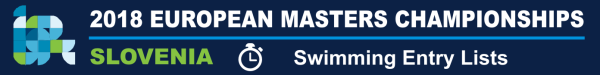 Entry Lists of European Masters Swimming Championships 2018, www.swim.by, Start lists European Masters Swimming Championships 2018, Swim.by