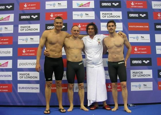 European masters swimming championships 2016, world record, Swimmpower Prague