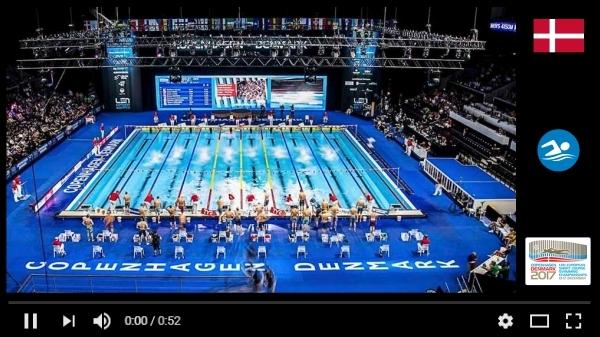 LEN European Short Course Swimming Championships 2017, Video, EuroSwim 2017 - promotion video, Swim.by