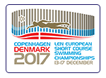 European Short Course Swimming Championships 2017, Copenhagen, Denmark
