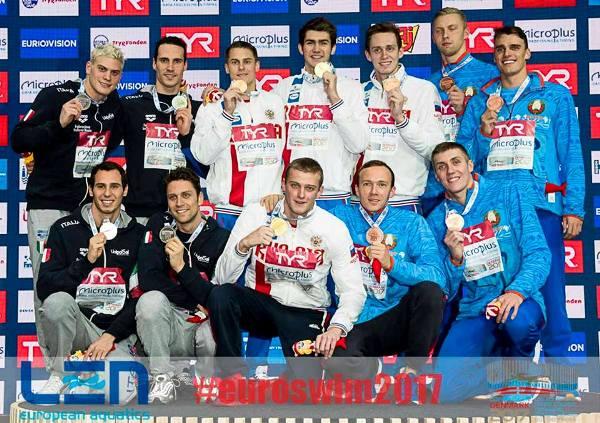 Чемпионат Европы по плаванию на короткой воде 2017, Россия, Беларусь, команда по плаванию, рекорд мира, сборная по плаванию, Swim.by