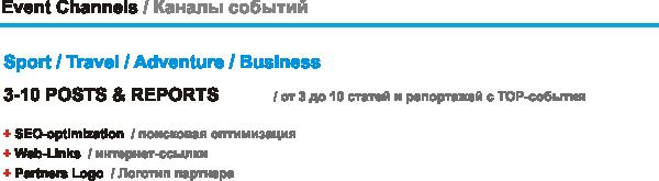 TOP-события Swim.by