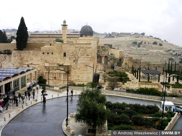 Еврейский квартал, Стена плача, записки, Иерусалим