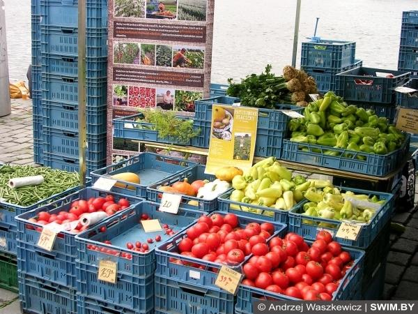 Фермерские продукты, рынок