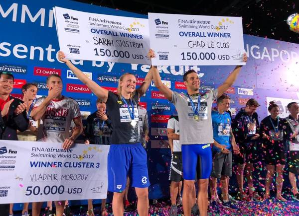 FINA/airweave Swimming World Cup 2017, Swimming World Cup 2017, Swim.by