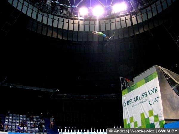 Фристайл в бассейне, Чемпионат Беларуси по прыжкам на лыжах в воду, Чемпионат Беларуси по фристайлу