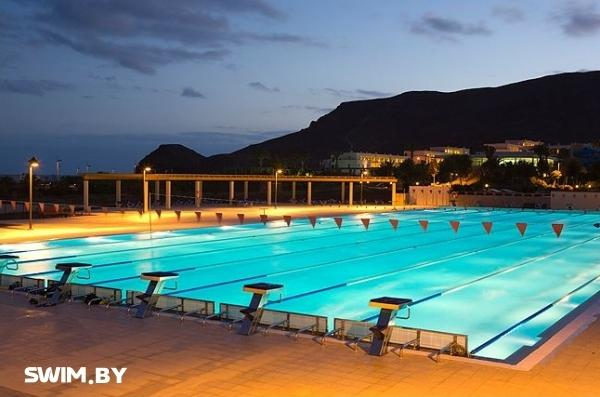 Fuerteventura, Canarian Islands, swimming pool