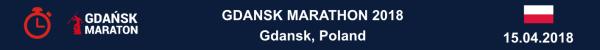 Gdansk Marathon Results 2018, Gdańsk Maraton Wyniki, Марафон в Гданьске Результаты, Гданьск Марафон, Marathon Gdansk