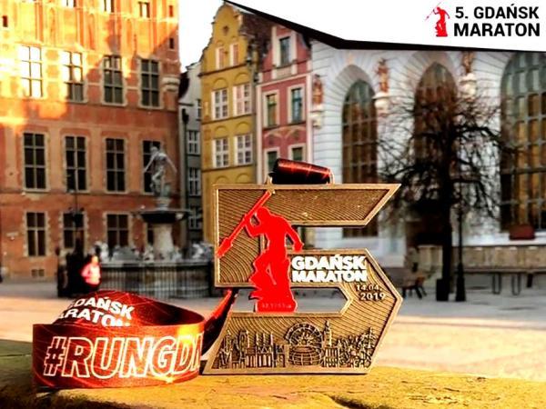 Gdańsk Maraton 2019 Medal, Gdańsk Maraton 2019, www.running.by, Gdańsk Maraton 2019 Zdjęcia, Gdansk Marathon 2019 Medal, Running.by