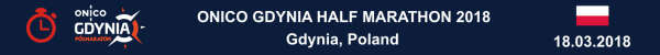 Gdynia Half Marathon 2018 Results, Gdynia Półmaraton 2018 Wyniki, Полумарафон Гдыня 2018 Результаты