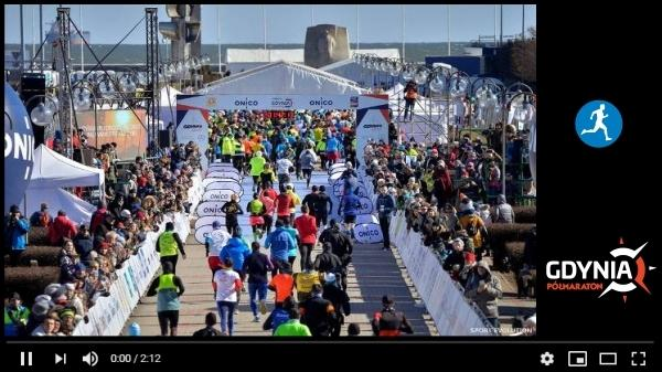 Gdynia Half Marathon 2018, Gdynia Half Marathon Video, www.swim.by, Gdynia Półmaraton 2018, Gdynia Półmaraton Video, Swim.by