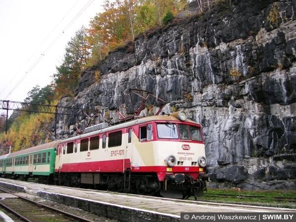 Горная железная дорога в Польше