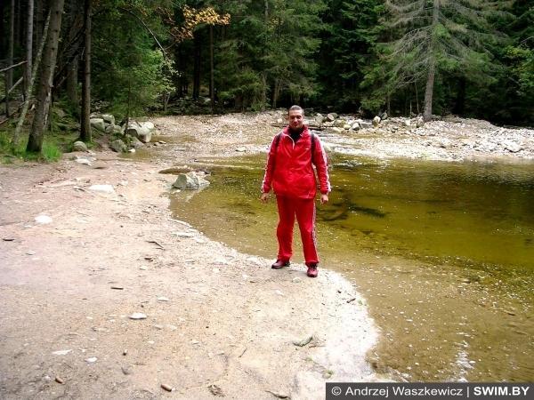 Горное озеро глубина