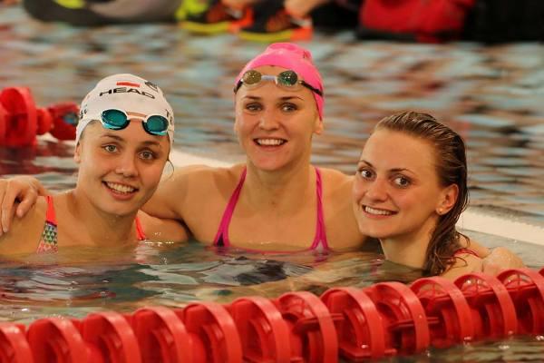 Гран-при Польши по плаванию «Opole-2016», соревнования по плаванию, Tchórz Alicja, Dowgiert Anna, Urbańczyk Aleksandra