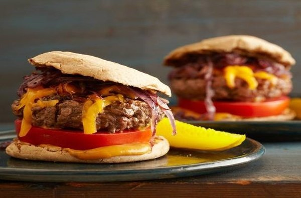 Grilled Cheeseburgers, Ingredients, Method, What to eat after race, Swim.by
