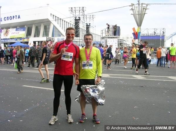 Half marathon Minsk 2015
