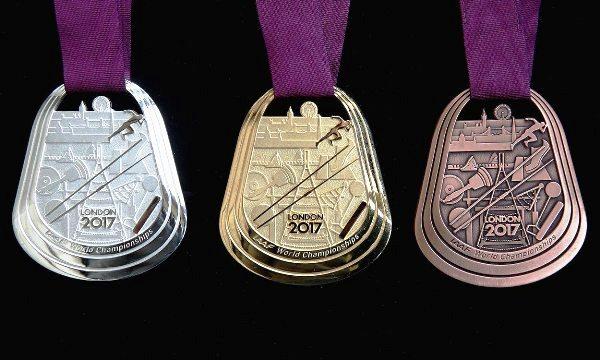IAAF World Championships London 2017, коллекционный дизайн медалей