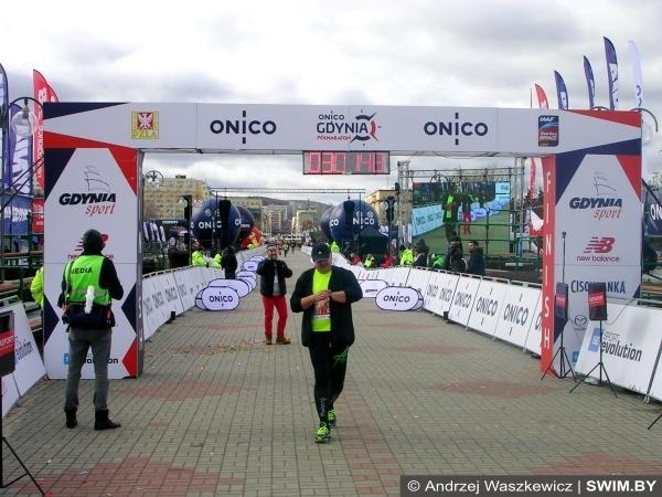 Анджей Вашкевич, Inside of ONICO Gdynia Half Marathon 2017, полумарафон в Гдыне
