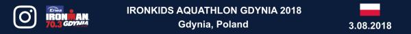 IRONKIDS Aquathlon Gdynia 2018, IRONKIDS Aquathlon Gdynia 2018 Photo, IRONKIDS Aquathlon Gdynia Foto, Aquathlon Ironman Gdynia Zdjęcia