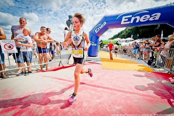 IRONKIDS Gdynia 2017, соревнования по триатлону для детей, детские соревнования по акватлону, Swim.by