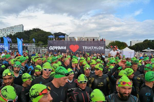 IRONMAN 70.3 Gdynia 2018, Open Water Swimming, www.swim.by, Triathlon Ironman Gdynia Swimming, Ironman Swimming, Swim.by