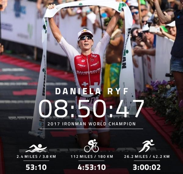 Ironman Triathlon World Championship 2017, Чемпионат мира Ironman триатлон, Даниэла Риф, Daniela Ryf