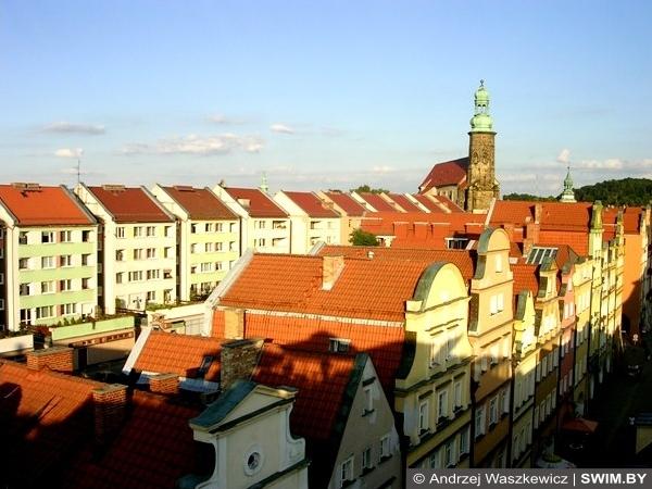 Jelenia Góra Polska, Еленя-Гура Польша, Hirschberg Polen