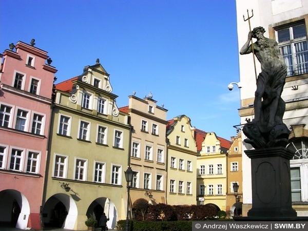 Jelenia Góra Plac Ratuszowy, Ратушная площадь Andrzej Waszkewicz