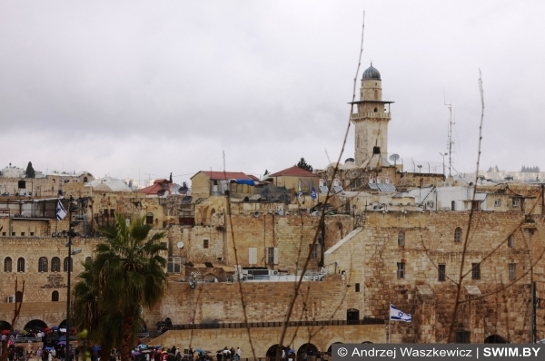 Иерусалим, Израиль, центр мира