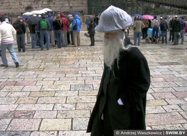 Иерусалим, Израиль, сезон дождей зимой
