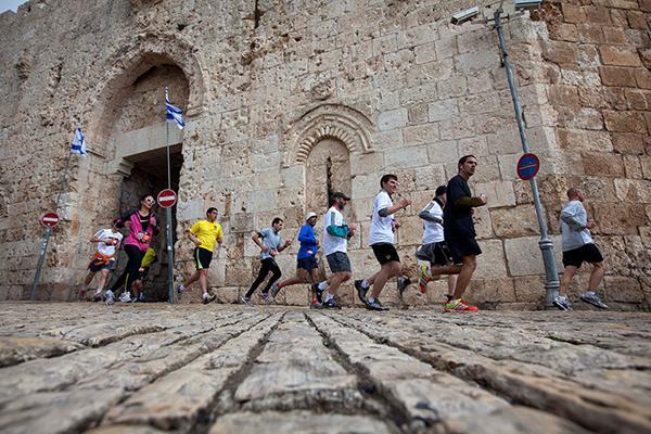 Jerusalem Marathon 2016, беговой марафон в Иерусалиме