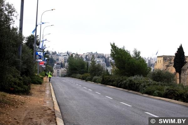 Иерусалимский марафон, трасса, дистанция
