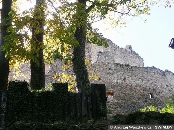 Каменный замок Польша фото