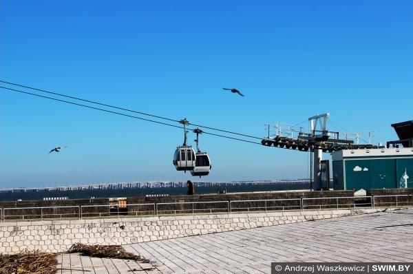 Канатная дорога Лиссабон в Португалии