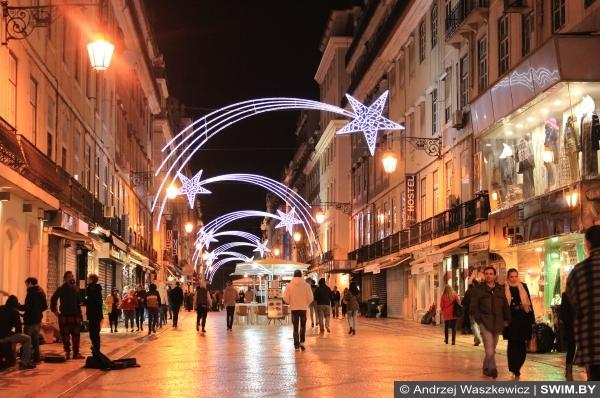 Каштаны Лиссабон Новый год