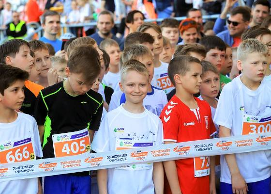 Pelavo Kids Run 2018, Kids Run Lodz, children running competition