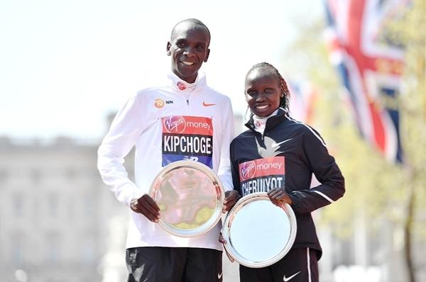 Eliud Kipchoge, Vivian Cheruiyot, London Marathon 2018, London Maraton, Марафон в лондоне, European Running Marathons, Swim.by